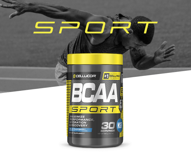 Cellucor BCAA sport contains prime amounts of both BCAAs and electrolytes to help you persist and recover*.