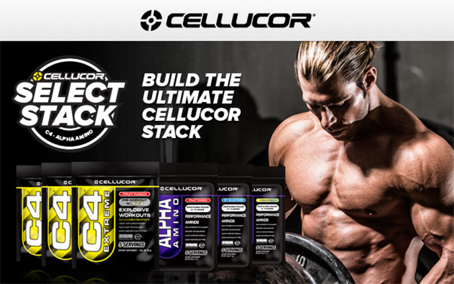Cellucor. Select Stack. Build The Ultimate Cellucor Stack.