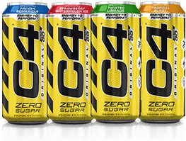 Carbonated C4 Cans