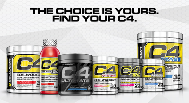 The Choice Is Yours. Find Your C4.