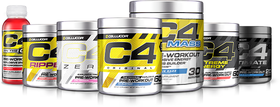 Cellucor C4 Product Line