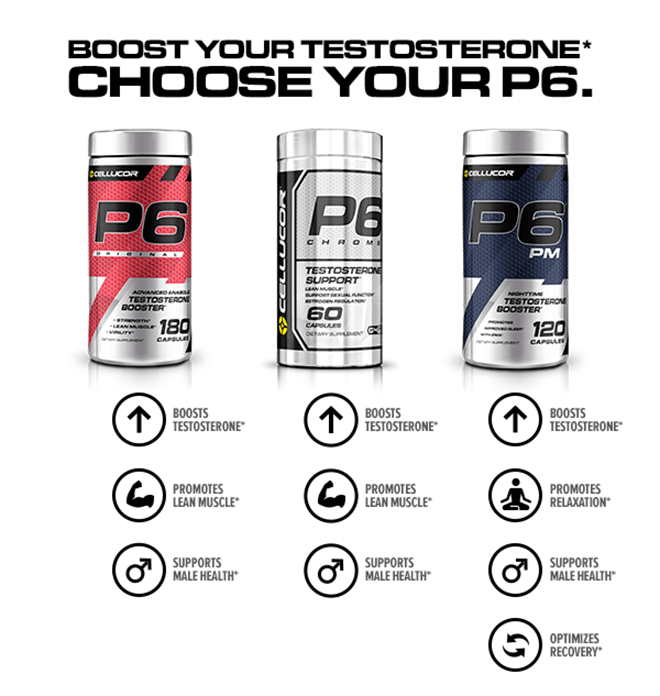 Cellucor P6 Comparison Chart