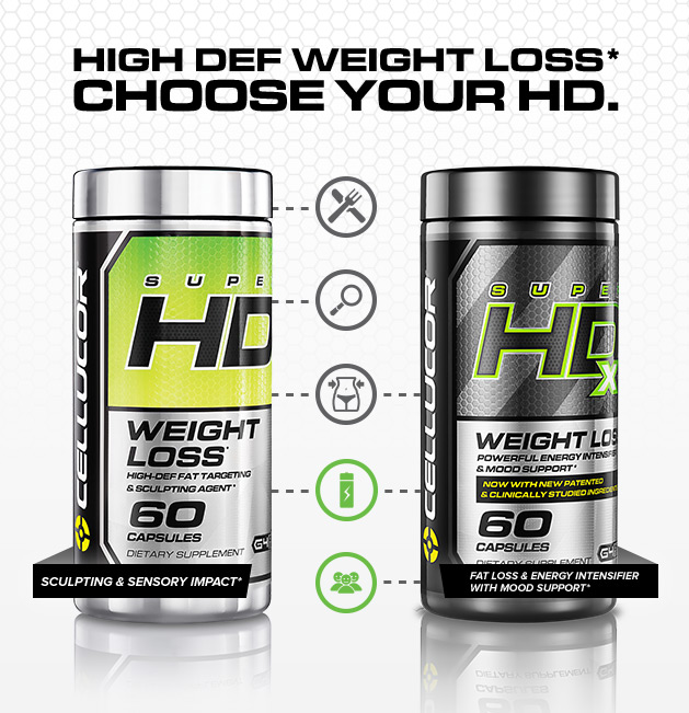 High Def Weight Loss*. Choose Your HD.