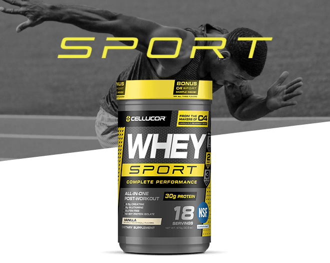Taking a protein supplement that promotes muscle recovery like Whey Sport can help you achieve the lean muscle gains that you've worked so tirelessly for.*