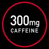 300mg caffeine