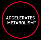 accerlerates metabolism