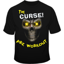The Curse Skull Tee Yellow Front