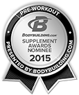 Bodybuilding.com 2016 Supplement Awards Nominee