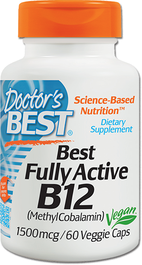 Fully Active Folate With Quatrefolic 400 Mcg: Best Fully Active B-12 By Doctor's Best At Bodybuilding