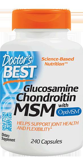 Best Msm 1000 Mg: Doctor's Best Glucosamine Chondroitin MSM At Bodybuilding