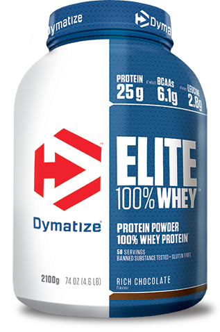 Elite 100% Whey is a  high quality protein formula for ambitious athletes of every training  level and for anytime use.