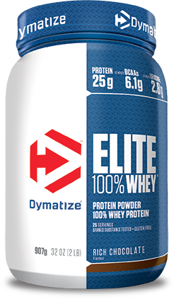 Offers 25g of premium quality whey protein per serving