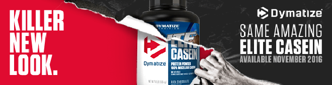 Killer New Look. Same Amazing Elite Casein.