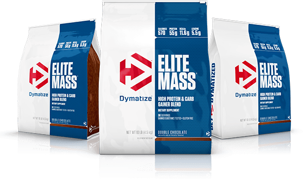 Dymatize Elite Mass Gainer bags