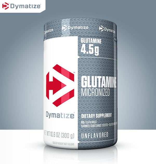 Micronized Glutamine by Dymatize at Bodybuilding.com ...
