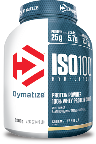 ISO100 HYDROLYZED is a perfect choice after and even before exhausting workouts.