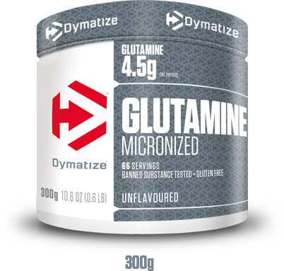 Due to its unflavoured taste, Dymatize GLUTAMINE MICRONIZED powder can conveniently be added to water or juice and has great solubility through micronization!