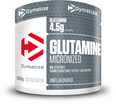 L-Glutamine is seen as one of the basic supplements in fitness sport and is often used after every workout. Dymatize GLUTAMINE MICRONIZED contains 100% L-Glutamine!