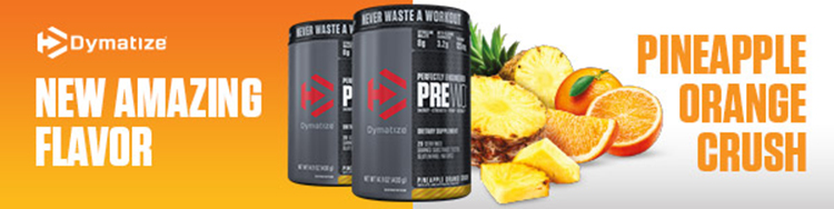 Dymatize New Amazing Flavor - Pineapple Orange Crush