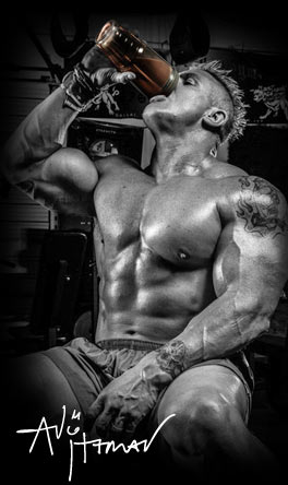 Andy Haman. IFBB Pro Bodybuilder. Team Dymatize.