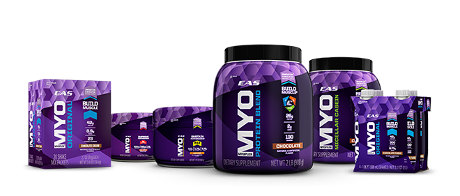 EAS MYO Supplement Product Line