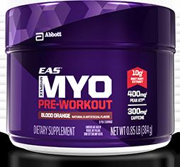 EAS Myoplex Pre-Workout Container