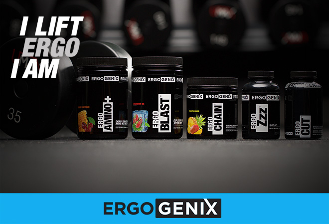 I LIFT. ERGO I AM. ERGOGENIX.