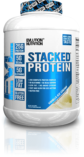 Stacked Protein Container