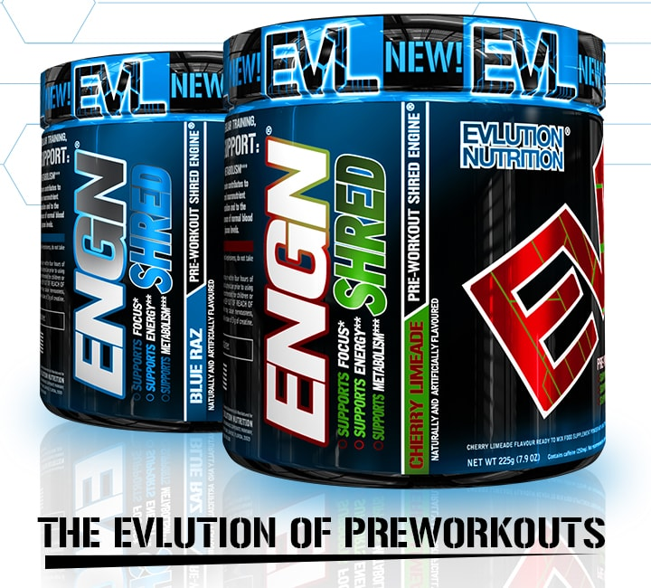 ENGN SHRED. Pre Workout Engine.