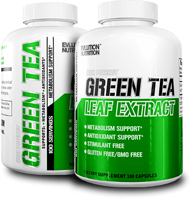 Green Tea Leaf Extract Bottles