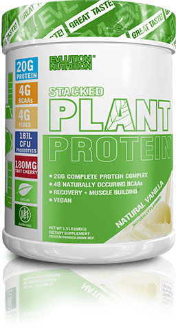 Stacked Plant Protein Container