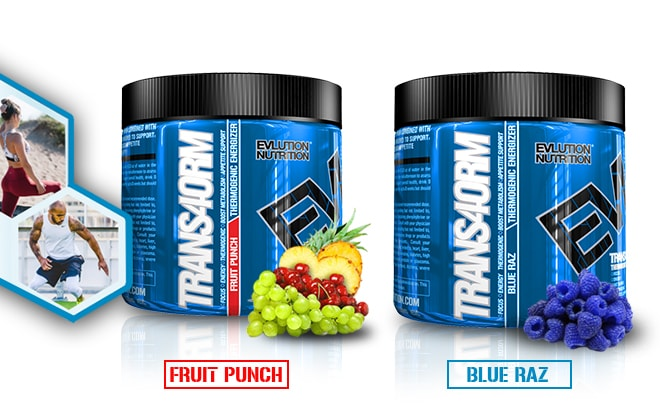 fruit punch and bluz raz flavor graphic image