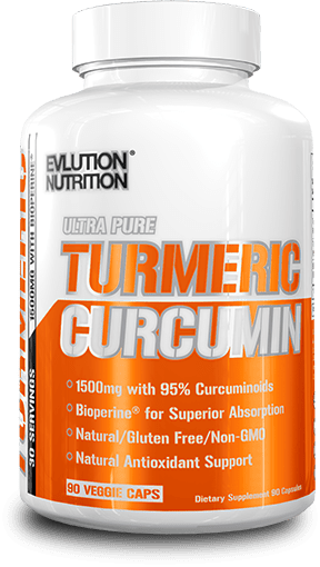 EVL Ultra Pure Turmeric Curcumin bottle