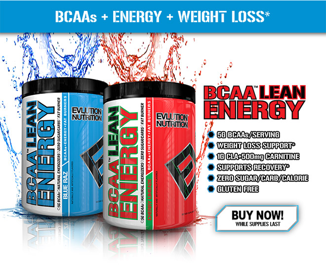 BCAAs + Energy + Weight Loss*