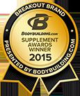 Bodybuilding.com Supplement Award 2015