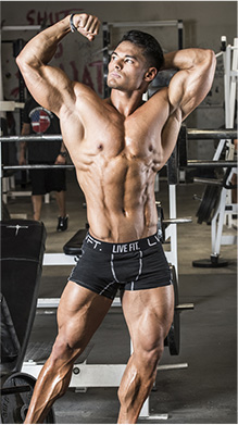 Physique model photo