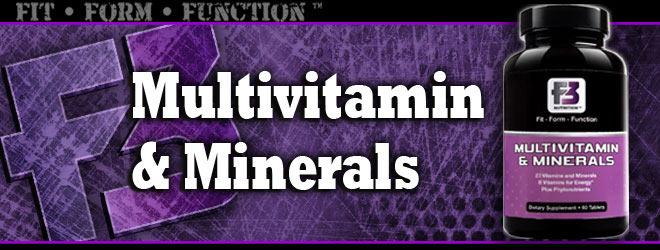 Multivitamin & Minerals