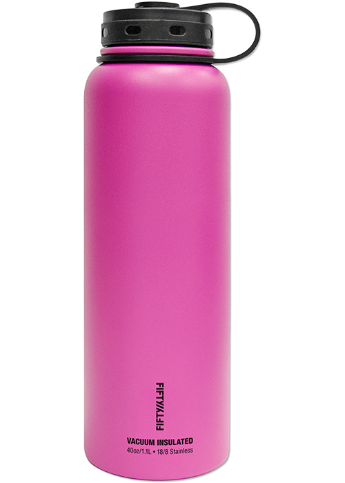 Fifty Fifty Double Wall Vacuum Insulated Water Bottle At