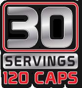 30 Servings 120 Caps