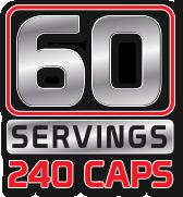 60 Servings 240 Caps