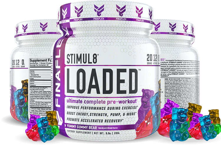 STIMUL8 LOADED containers