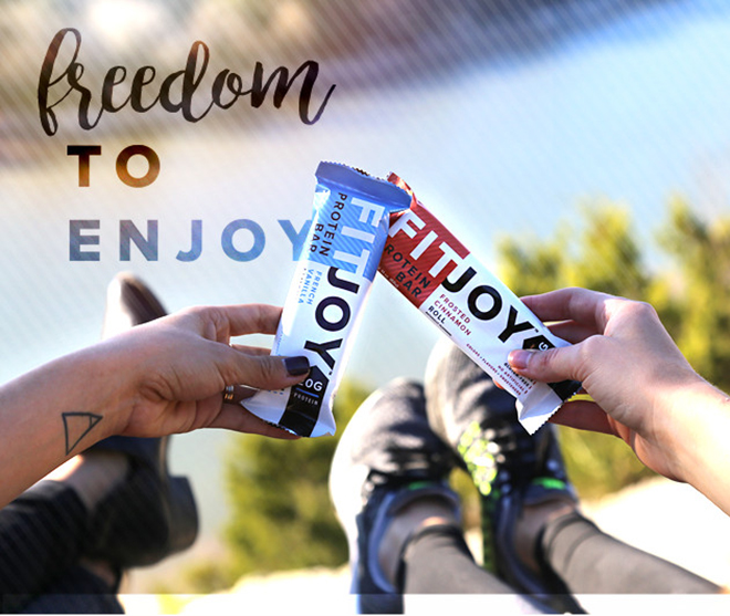 FitJoy. Freedom to Enjoy.