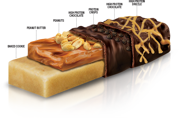 Fit Crunch Bars By Chef Robert Irvine Fortifx At