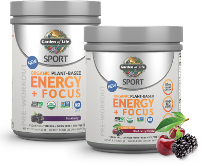 Garden of life sport organic plant based energy focus at best prices on for Garden of life energy and focus