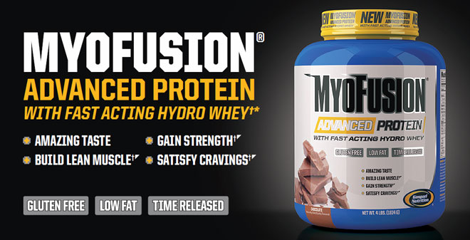 Gaspari Nutrition MyoFusion Advanced Protein Powder