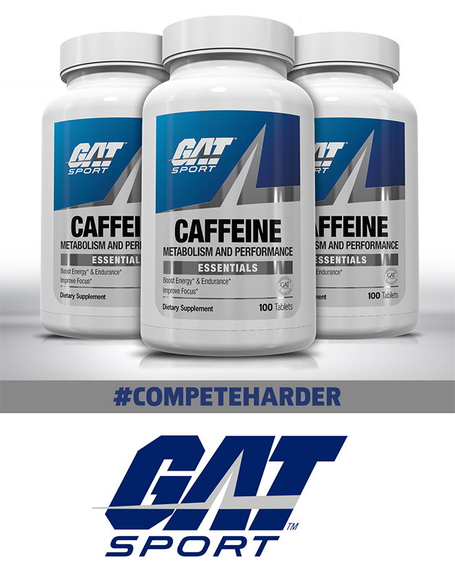 GAT Caffeine at Bodybuilding.com - Best Prices on Caffeine! |  Bodybuilding.com
