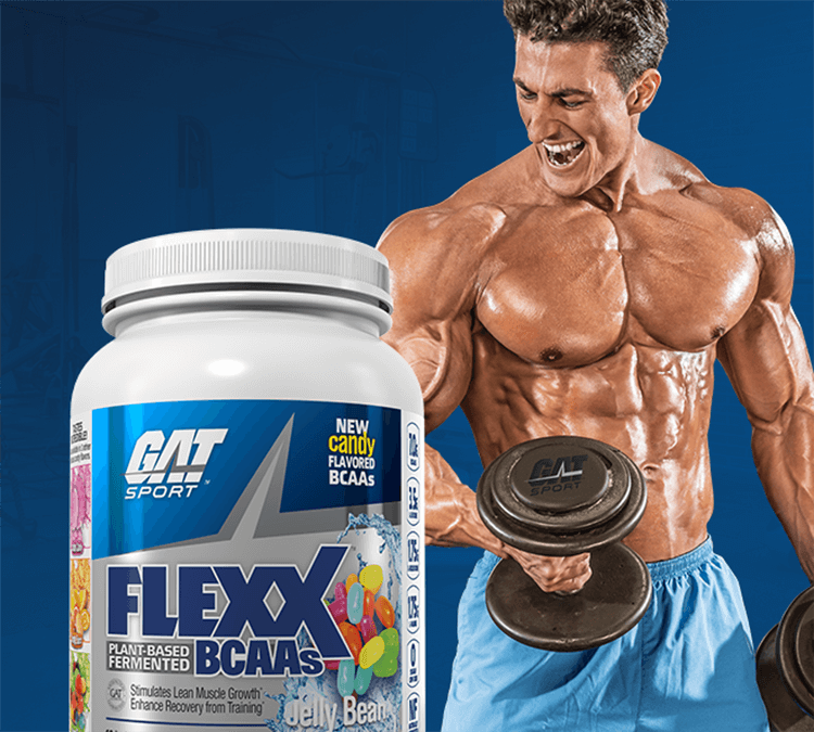 Flexx BCAAs and GAT athlete
