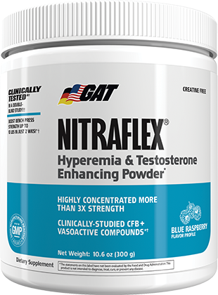 GAT Nitraflex. Hyperemia and Testosterone Enhancing Powder*