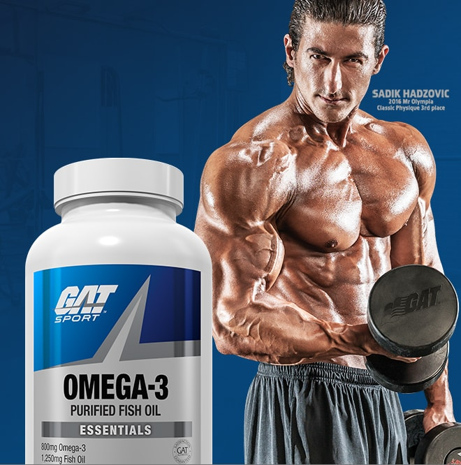 GAT Sport Omega-3 Purified Fish Oil