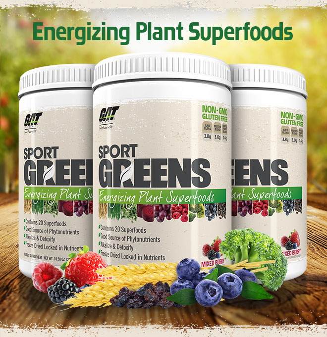 Energizing Plant Superfoods